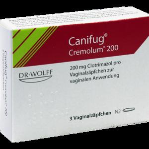CANIFUG Cremolum 200 Vaginalsuppositorien