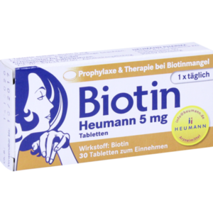 BIOTIN HEUMANN 5 mg Tabletten