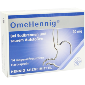 OMEHENNIG 20 mg magensaftresistente Hartkapseln