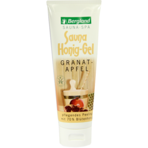 SAUNA HONIG-Gel Granatapfel