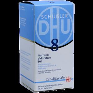BIOCHEMIE DHU 8 Natrium chloratum D 12 Tabletten
