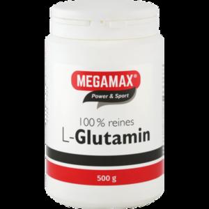 GLUTAMIN 100% rein Megamax Pulver