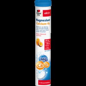 DOPPELHERZ Magnesium+Calcium+D3 Brausetabletten