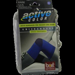 BORT ActiveColor Kniebandage XL blau