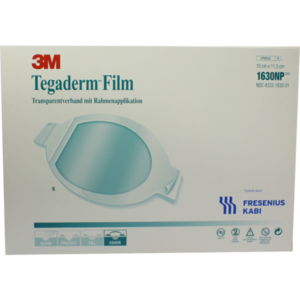 TEGADERM Film 10x11,5 cm oval 1630NP
