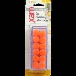 OHRSCHUTZ XAM med.Silikon orange