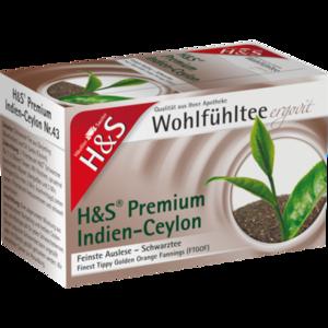 H&S Schwarztee Premium Indien-Ceylon Filterbeutel