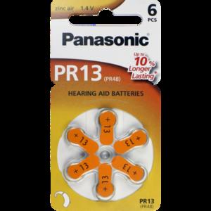 BATTERIEN f.Hörgeräte Panasonic PR13
