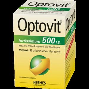 OPTOVIT fortissimum 500 Kapseln
