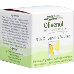 HAUT IN BALANCE Olivenöl Feuchtigkeitspflege 3%