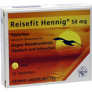 REISEFIT Hennig 50 mg Tabletten