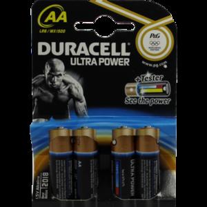 DURACELL Ultra Power AA (MN1500/LR6) K4 m.Powerch.