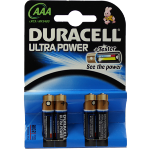 DURACELL Ultra Power AAA (MN2400/LR03) K4 m.Powerc