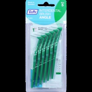 TEPE Angle Interdentalbürste 0,8 mm grün