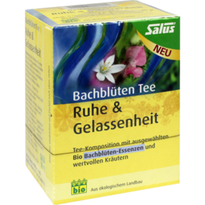 BACHBLÜTEN Tee Ruhe & Gelassenheit Bio Salus Fbtl.