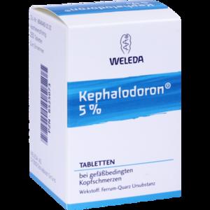 KEPHALODORON 5% Tabletten