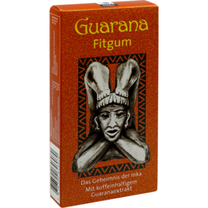 GUARANA FITGUM Blisterpack.Kaudragees