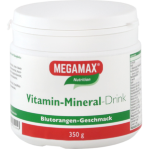 MEGAMAX Vita Mineral Drink Orange Pulver