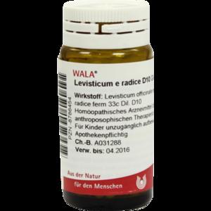 LEVISTICUM E radice D 10 Globuli