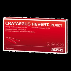 CRATAEGUS HEVERT injekt Ampullen