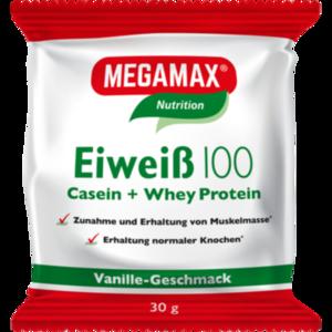 EIWEISS 100 Vanille Megamax Pulver