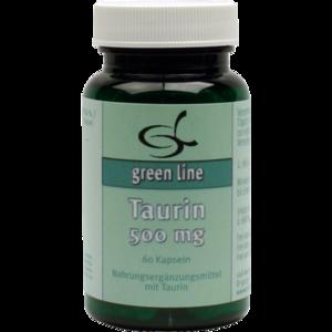 TAURIN 500 mg Kapseln