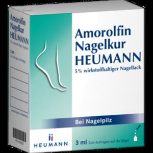 Amorolfin Heumann 5% wirkstoffhaltiger Nagellack