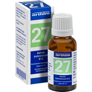 BIOCHEMIE Globuli 27 Kalium bichromicum D 12