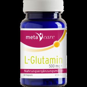 META CARE L-Glutamin Kapseln