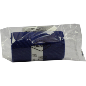 DRACOELFI haft color Fixierbinde 8 cmx4 m blau