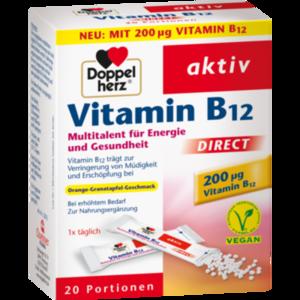 DOPPELHERZ Vitamin B12 DIRECT Pellets