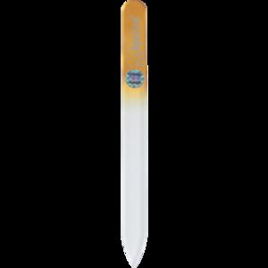 APOLINE Nagelfeile Glas 14 cm orange