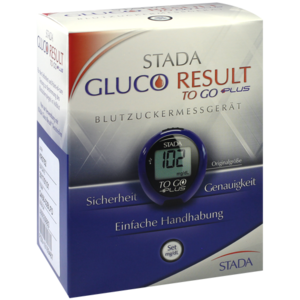 STADA Gluco Result To Go plus Blutzuckermes.mg/dl