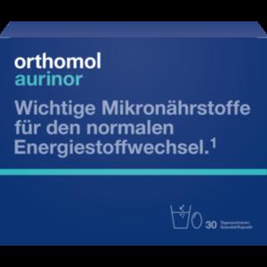 ORTHOMOL aurinor Granulat/Kaps.Kombipack.