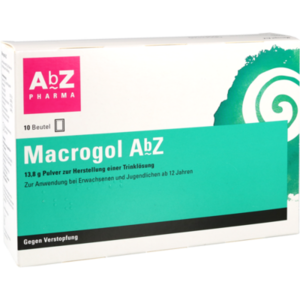 MACROGOL AbZ Plv.z.Her.e.Lsg.z.Einnehmen