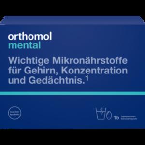 ORTHOMOL mental Granulat/Kapseln 15 Tage Kombip.