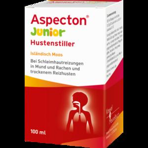 ASPECTON Junior Hustenstiller Isländisch Moos Saft