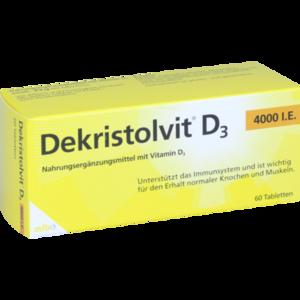 DEKRISTOLVIT D3 4.000 I.E. Tabletten