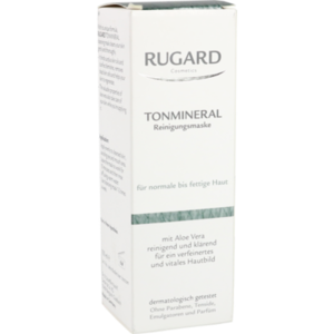 RUGARD Tonmineral Reinig.Maske f.norm.-fet.Haut