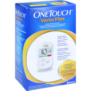 ONE TOUCH Verio Flex Blutzuckermesssystem mmol/l