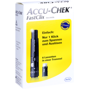 ACCU CHEK FastClix Stechhilfe Modell II