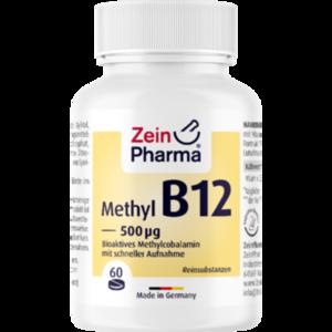 VITAMIN B12 500 μg Methylcobalamin Lutschtabletten