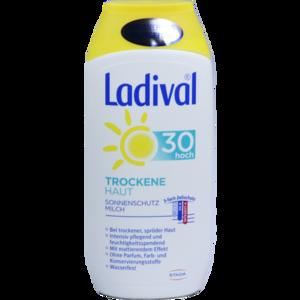 LADIVAL trockene Haut Milch LSF 30