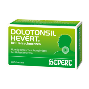 DOLOTONSIL Hevert bei Halsschmerzen Tabletten
