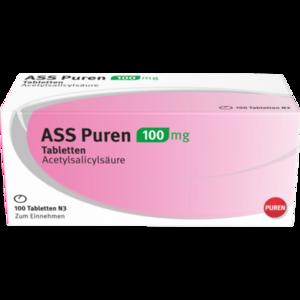 ASS Puren 100 mg Tabletten