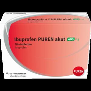 IBUPROFEN PUREN akut 400 mg Filmtabletten