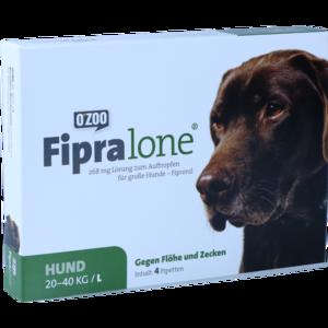 FIPRALONE 268 mg Lsg.z.Auftropf.f.große Hunde