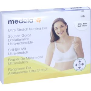 MEDELA Schwangerschafts- u.Still-BH L weiß