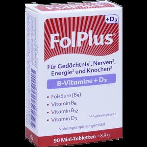 FOLPLUS+D3 Tabletten
