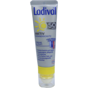 LADIVAL Aktiv Sonnenschutz Gesicht & Lippen LSF 50